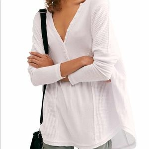 NWT Free People Henley Top